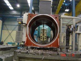 Talleres Allur. Mecanizado eólico 09