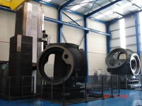 Talleres Allur. Mecanizado eólico 06