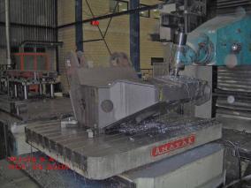 Máquina especial. Mecanizados de grandes dimensiones ALLUR 08