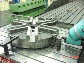 Máquina-herramienta. Mecanizados de grandes dimensiones ALLUR 02