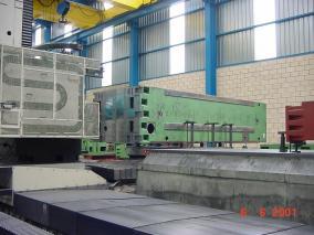 Máquina-herramienta. Mecanizados de grandes dimensiones ALLUR 05