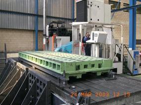 Máquina-herramienta. Mecanizados de grandes dimensiones ALLUR 09