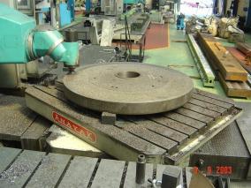 Máquina-herramienta. Mecanizados de grandes dimensiones ALLUR 10