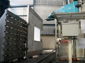Máquina para sector papelero. Mecanizados de grandes dimensiones ALLUR 01
