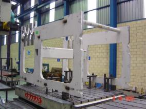 Máquina para sector papelero. Mecanizados de grandes dimensiones ALLUR 02