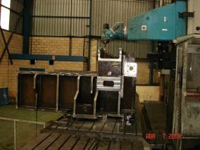 Máquina para sector papelero. Mecanizados de grandes dimensiones ALLUR 03