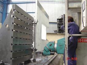 Máquina para sector papelero. Mecanizados de grandes dimensiones ALLUR 04