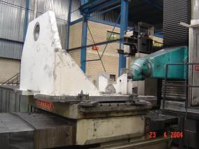 Máquina para sector papelero. Mecanizados de grandes dimensiones ALLUR 05