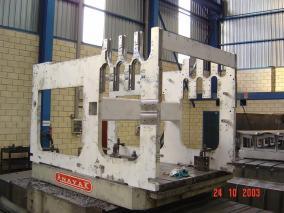 Máquina para sector papelero. Mecanizados de grandes dimensiones ALLUR 06