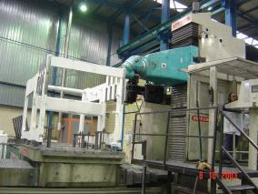 Máquina para sector papelero. Mecanizados de grandes dimensiones ALLUR 09