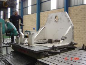 Máquina para sector papelero. Mecanizados de grandes dimensiones ALLUR 10